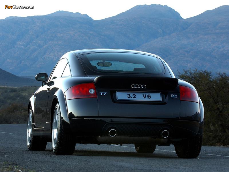 Audi Tt 3 2 Quattro Coupe Za Spec 8n 2003 06 Wallpapers