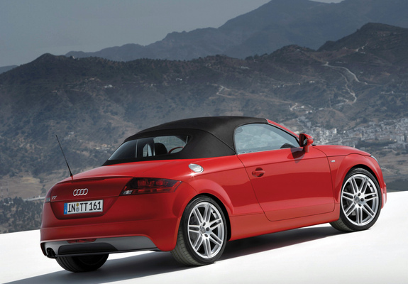 Audi TT S-Line Roadster (8J) 2007-10 wallpapers