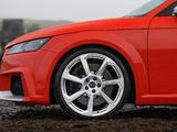 Audi TT RS Coupé UK-spec (8S) 2016 wallpapers