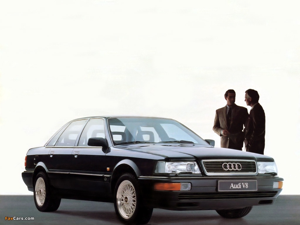 Audi V8 1988 94 Images 1024x768