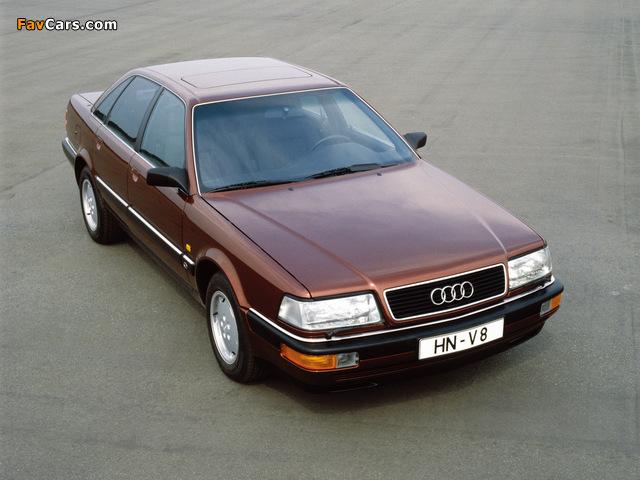 Audi V8 1988–94 images (640 x 480)