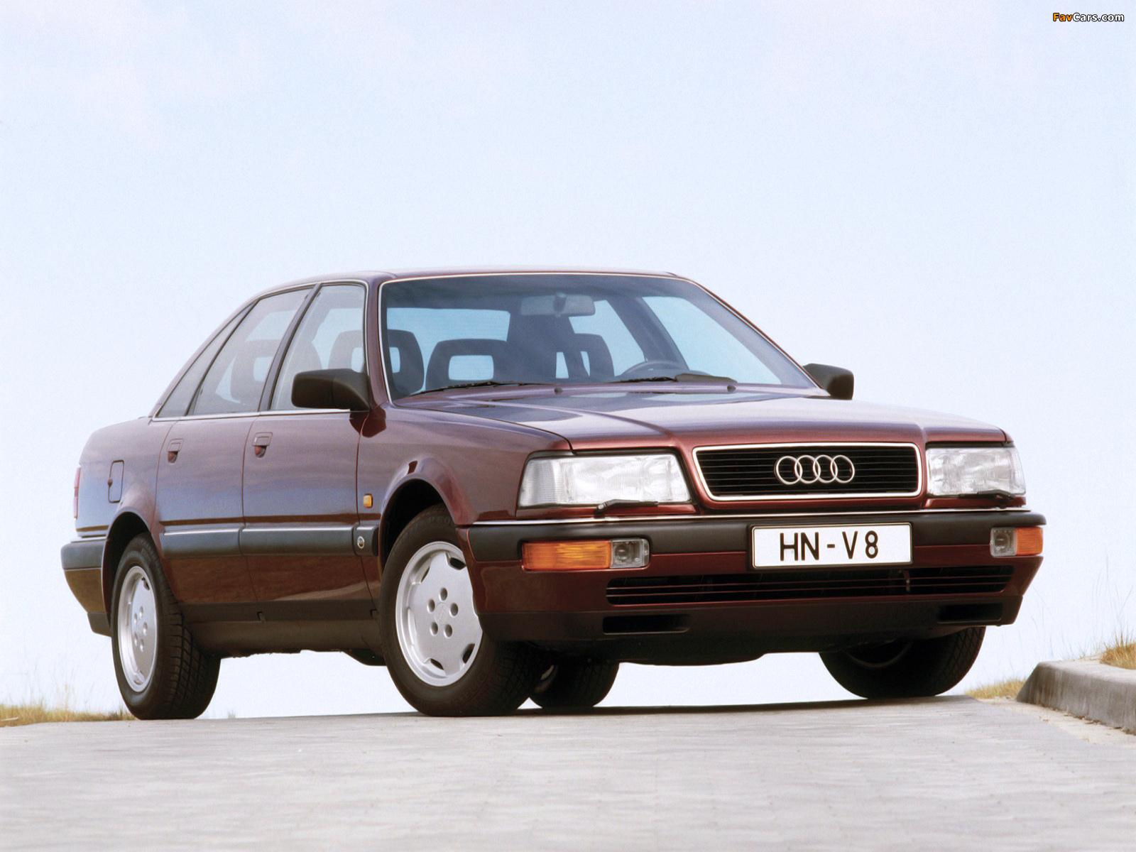 Audi V8 1988–94 photos (1600 x 1200)