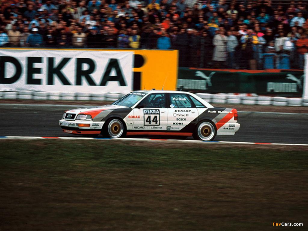 Audi V8 quattro DTM 1990–92 images (1024 x 768)