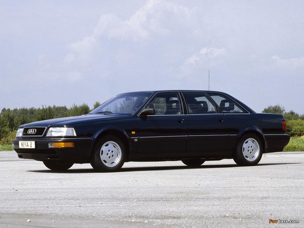 Audi V8L quattro 1990–94 images (1024 x 768)
