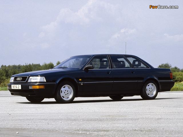 Audi V8L quattro 1990–94 images (640 x 480)