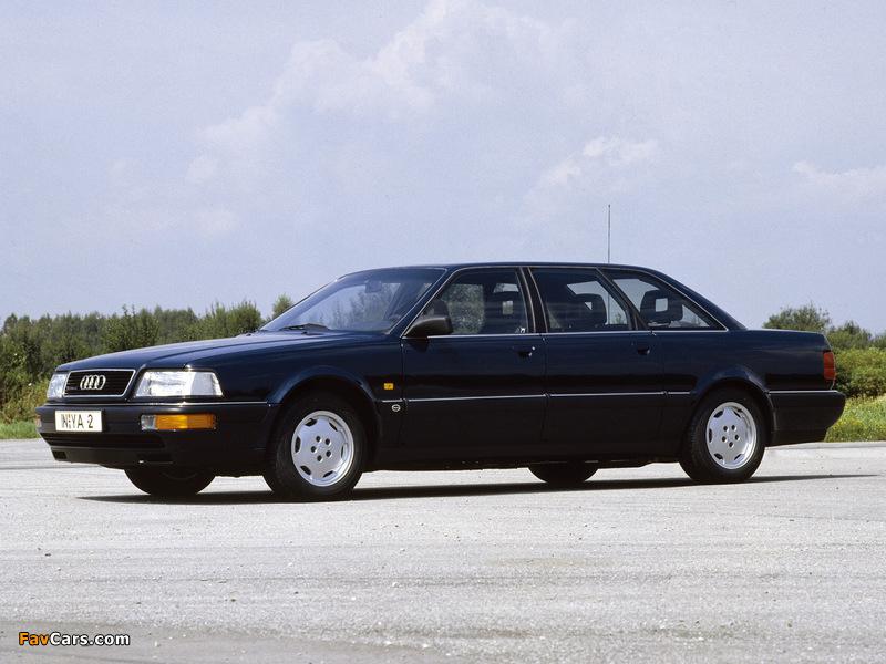 Audi V8L quattro 1990–94 images (800 x 600)