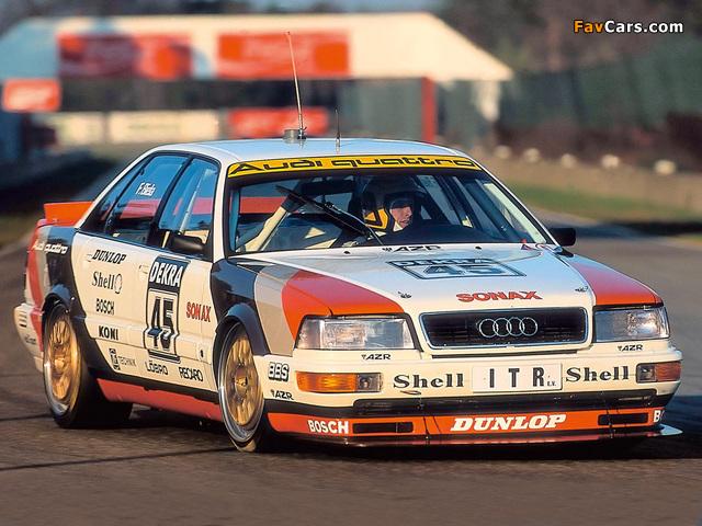 Audi V8 quattro DTM 1990–92 images (640 x 480)