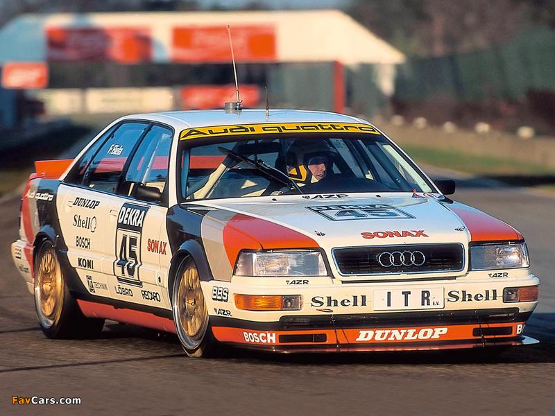 Audi V8 quattro DTM 1990–92 images (800 x 600)