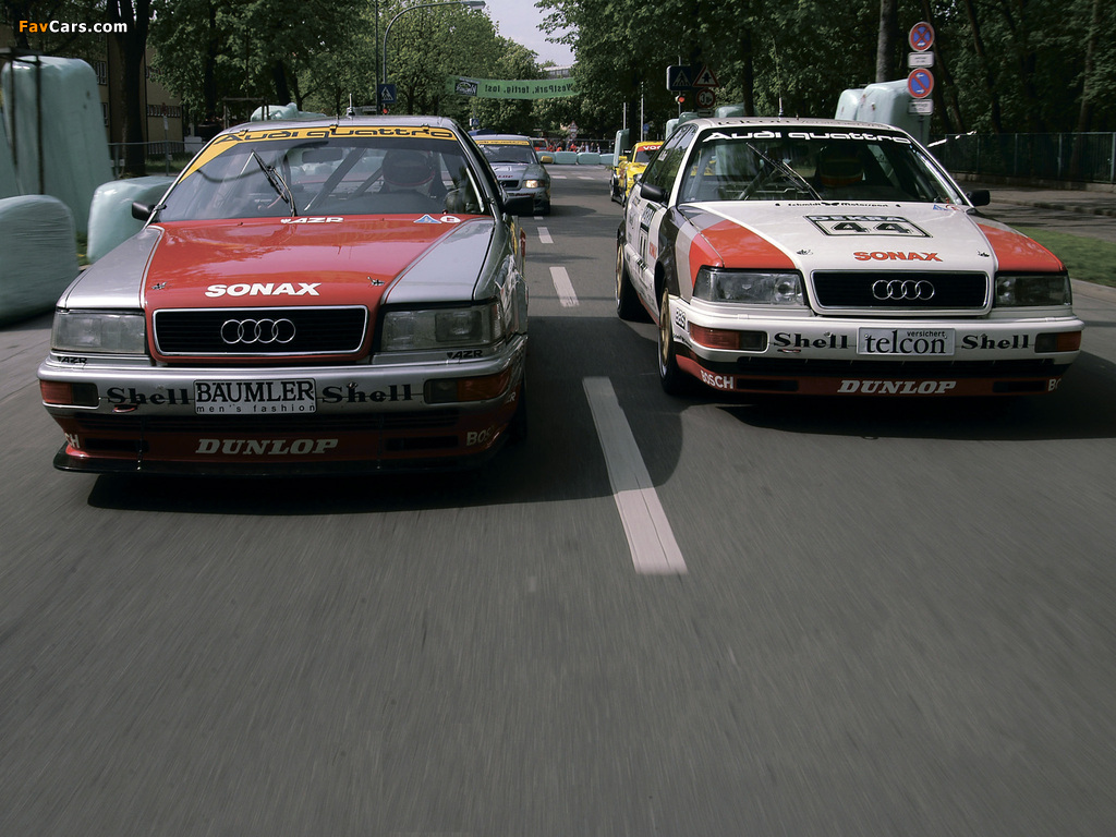 Audi V8 quattro DTM 1990–92 photos (1024 x 768)