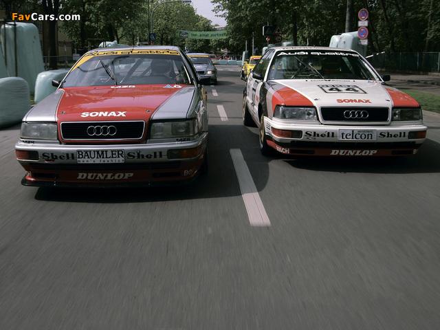 Audi V8 quattro DTM 1990–92 photos (640 x 480)