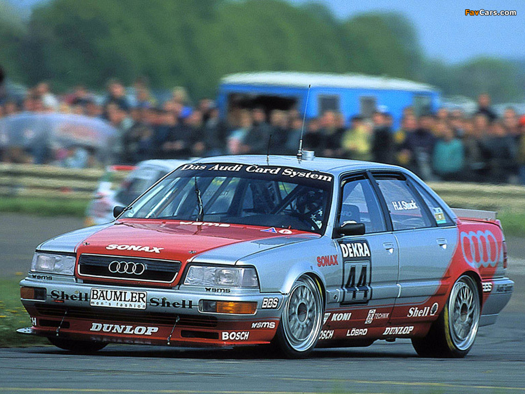 Audi V8 quattro DTM 1990–92 pictures (1024 x 768)