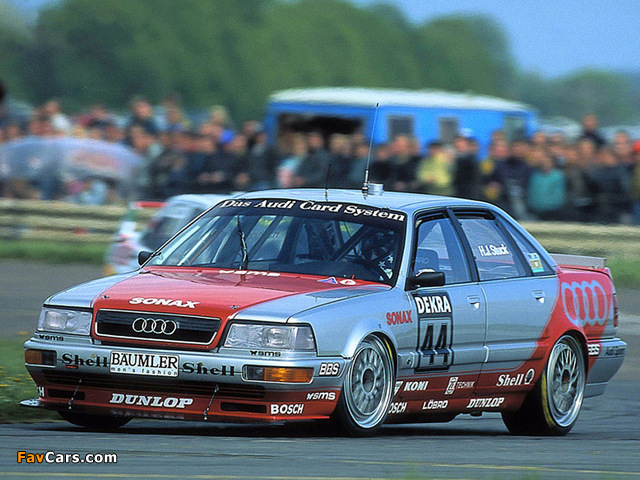 Audi V8 quattro DTM 1990–92 pictures (640 x 480)