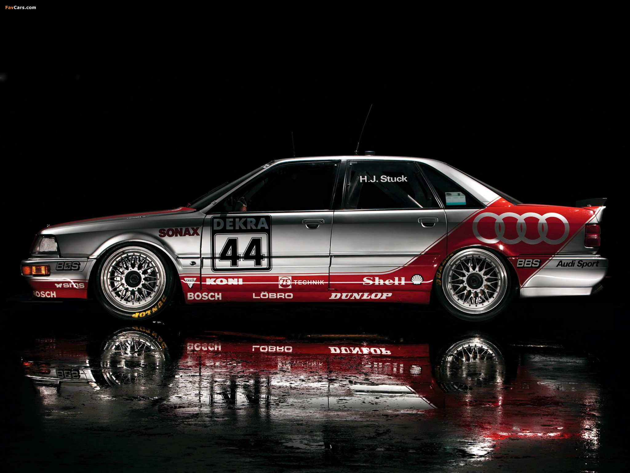 Audi V8 quattro DTM 1990–92 wallpapers (2048 x 1536)