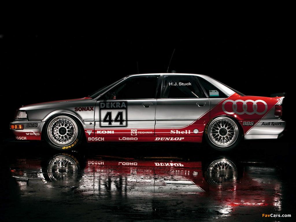 Audi V8 quattro DTM 1990–92 wallpapers (1024 x 768)