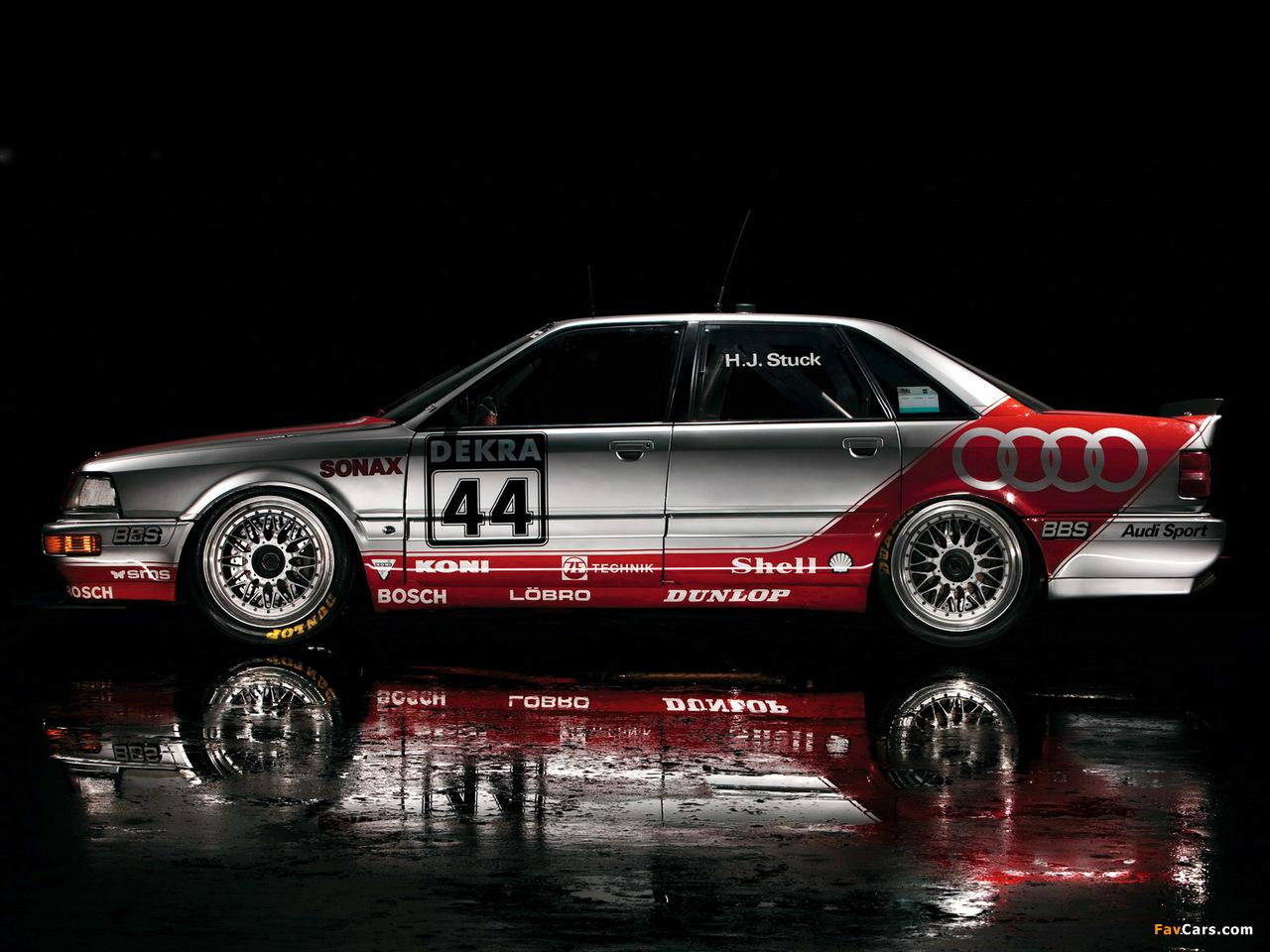 Audi V8 quattro DTM 1990–92 wallpapers (1280 x 960)