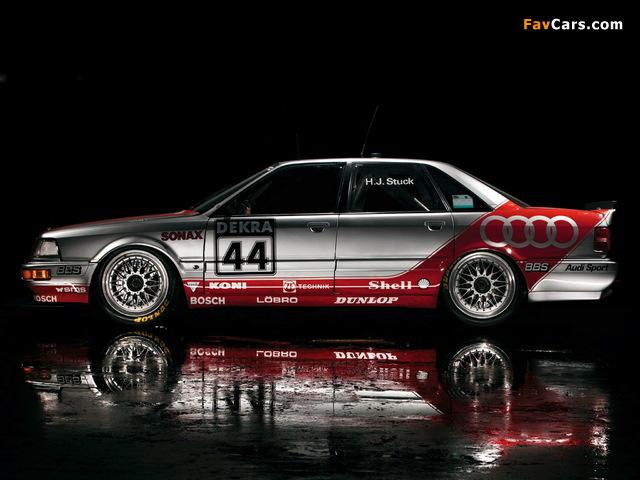 Audi V8 quattro DTM 1990–92 wallpapers (640 x 480)