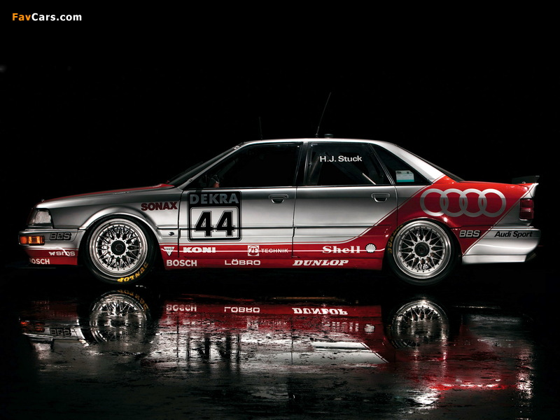 Audi V8 quattro DTM 1990–92 wallpapers (800 x 600)