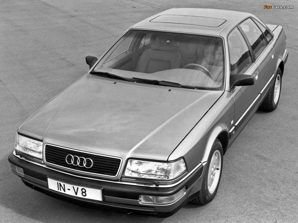 Images of Audi V8 1988–94 (1024 x 768)