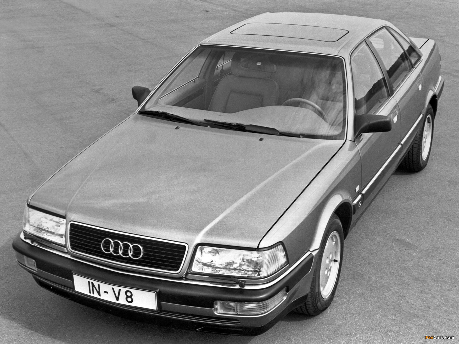 Images of Audi V8 1988–94 (1600 x 1200)