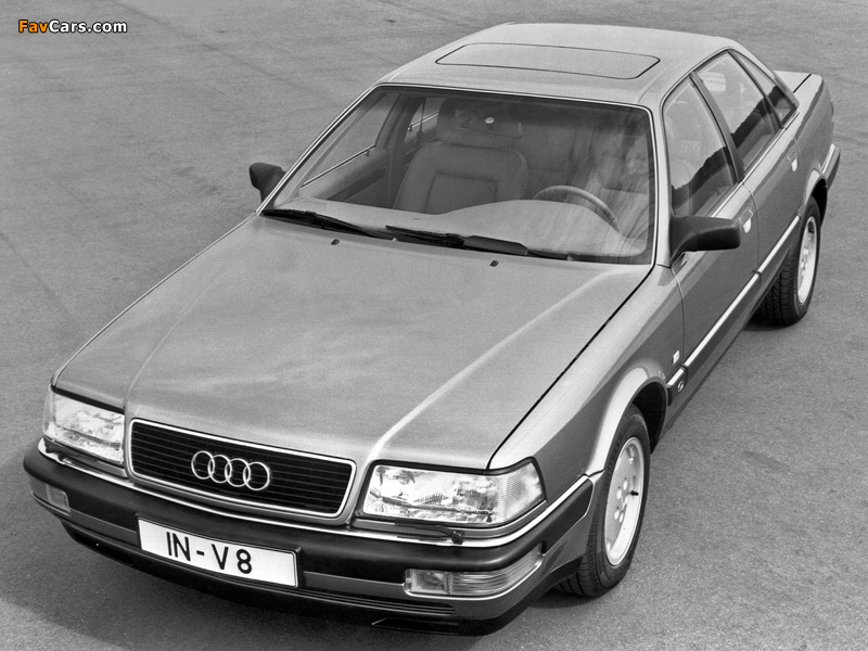Images of Audi V8 1988–94 (800 x 600)