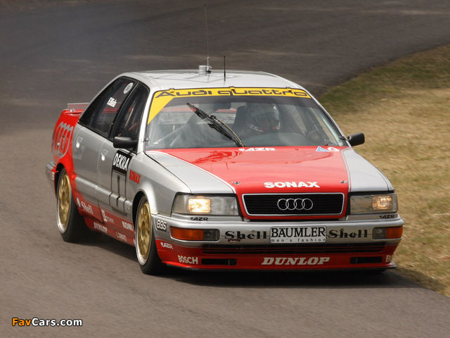 Images of Audi V8 quattro DTM 1990–92 (640 x 480)