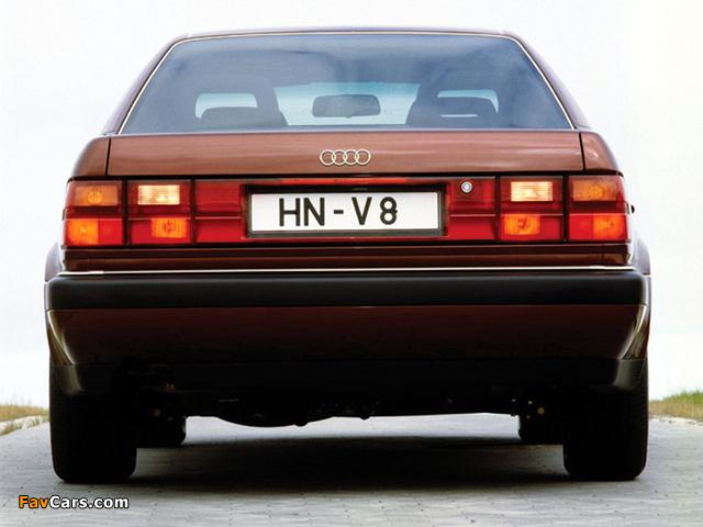 Photos of Audi V8 1988–94 (640 x 480)