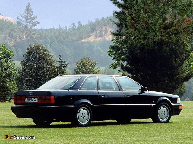 Photos of Audi V8L quattro 1990–94 (640 x 480)
