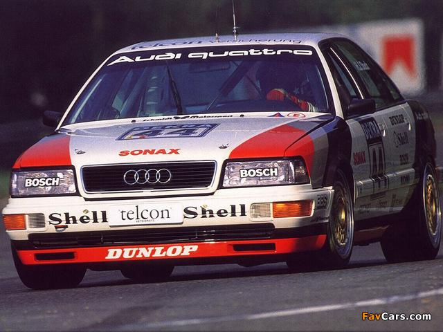 Photos of Audi V8 quattro DTM 1990–92 (640 x 480)