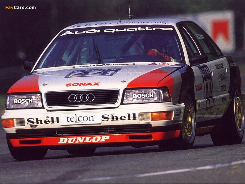 Photos of Audi V8 quattro DTM 1990–92 (800 x 600)