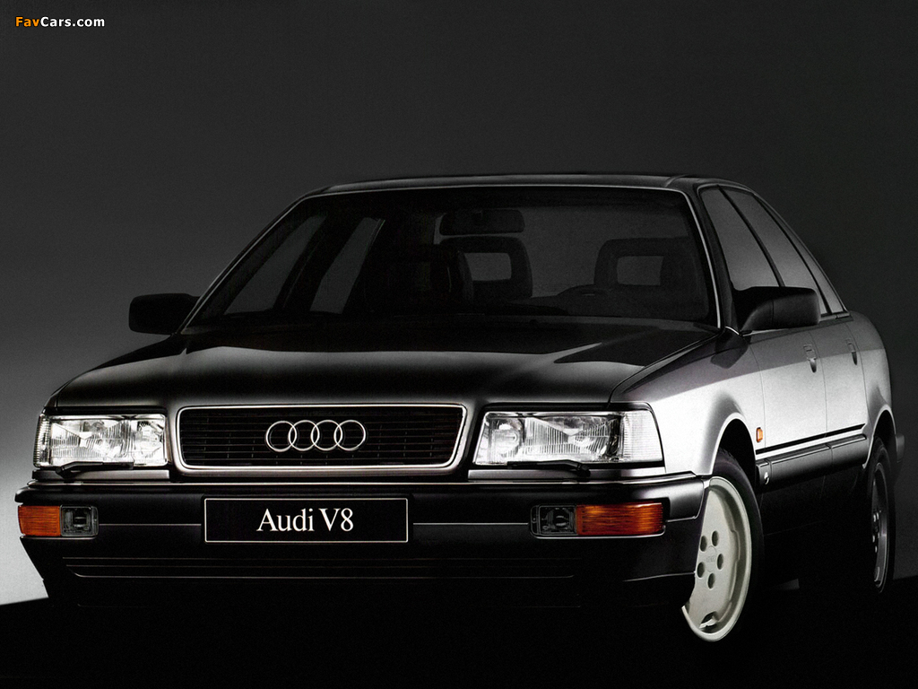 Pictures of Audi V8 1988–94 (1024 x 768)