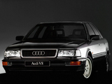 Pictures of Audi V8 1988–94