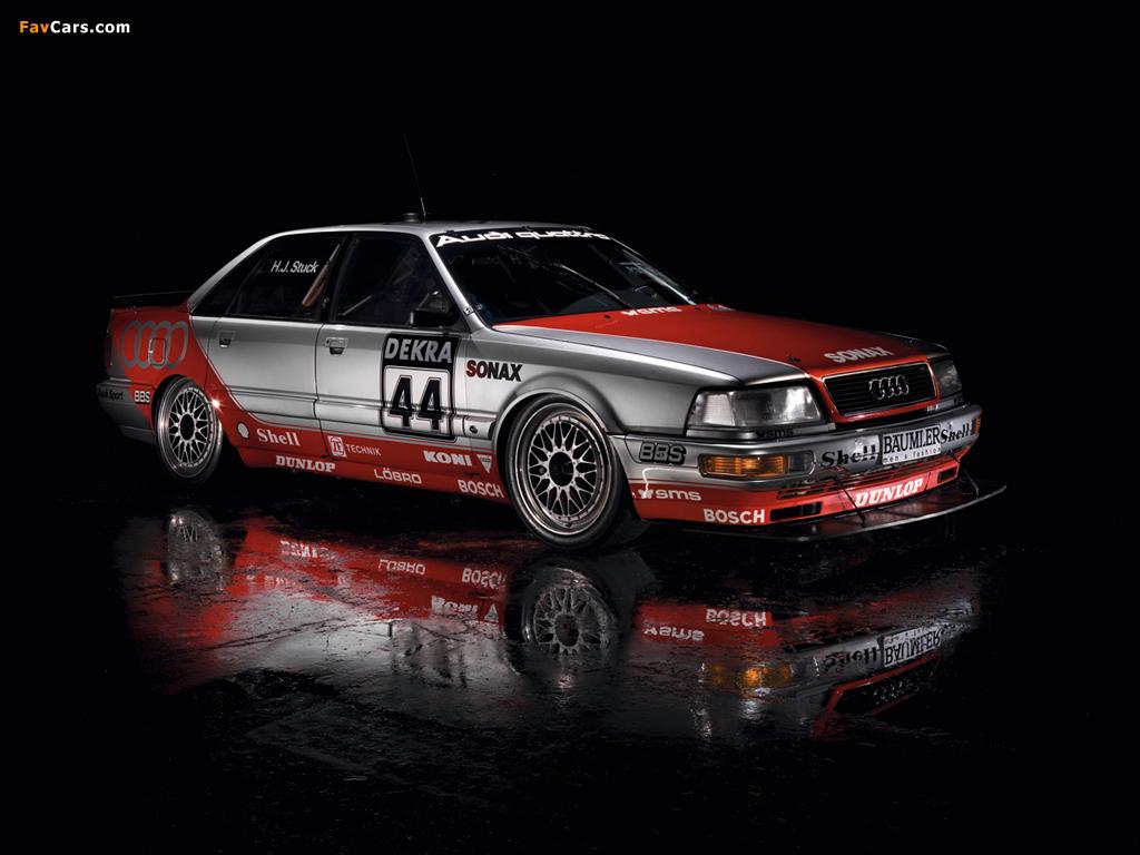 Pictures of Audi V8 quattro DTM 1990–92 (1024 x 768)