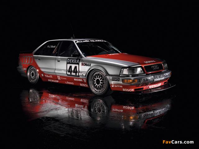 Pictures of Audi V8 quattro DTM 1990–92 (640 x 480)