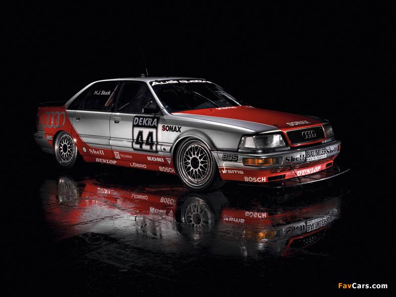 Pictures of Audi V8 quattro DTM 1990–92 (800 x 600)