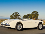 Austin Healey 100M Le Mans Roadster 1956 wallpapers