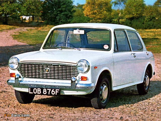 Photos of Austin 1100 2-door Saloon 1963–74 (640 x 480)