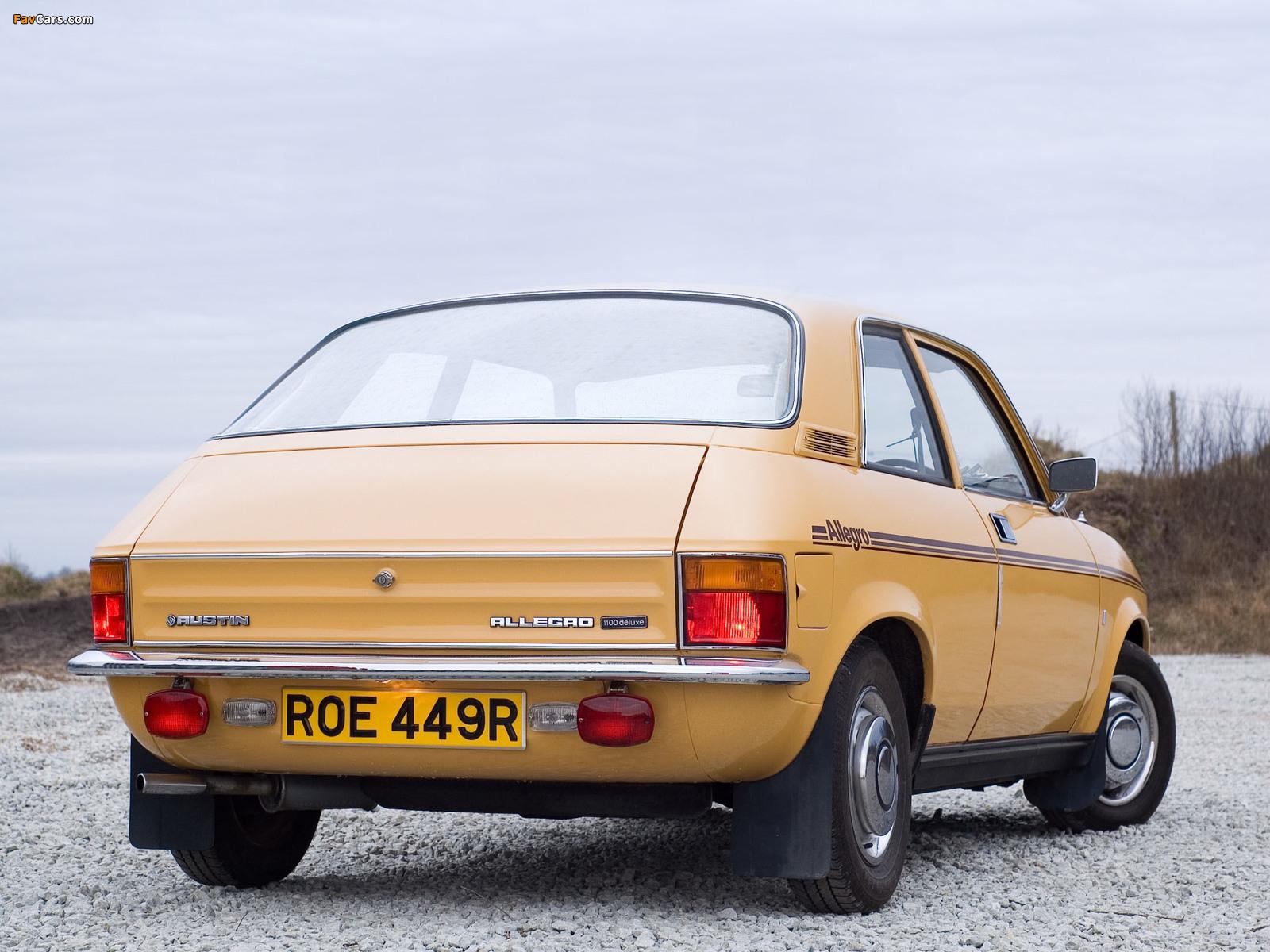 Images of Austin Allegro 2-door (S2) 1975–79 (1600 x 1200)