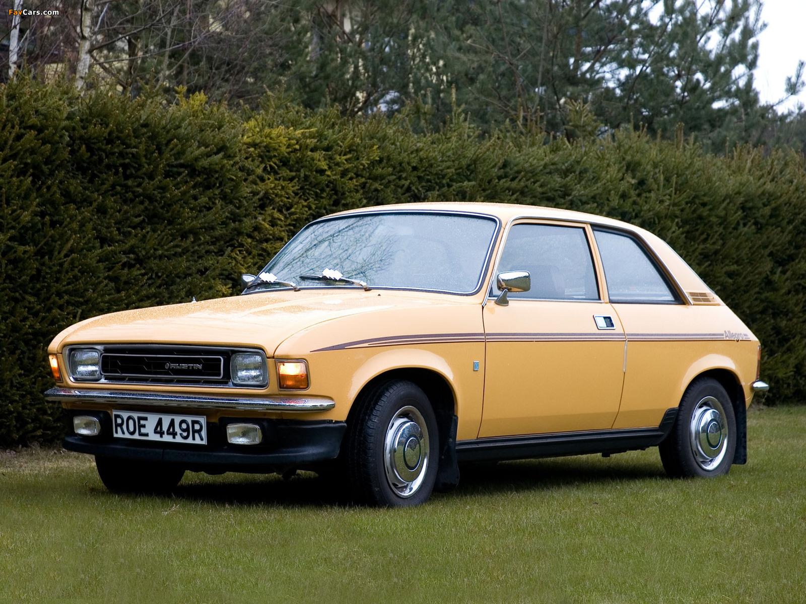 Photos of Austin Allegro 2-door (S2) 1975–79 (1600 x 1200)