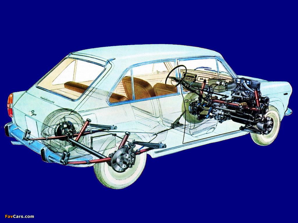 Images of Autobianchi Primula 3-door 1964–70 (1024 x 768)