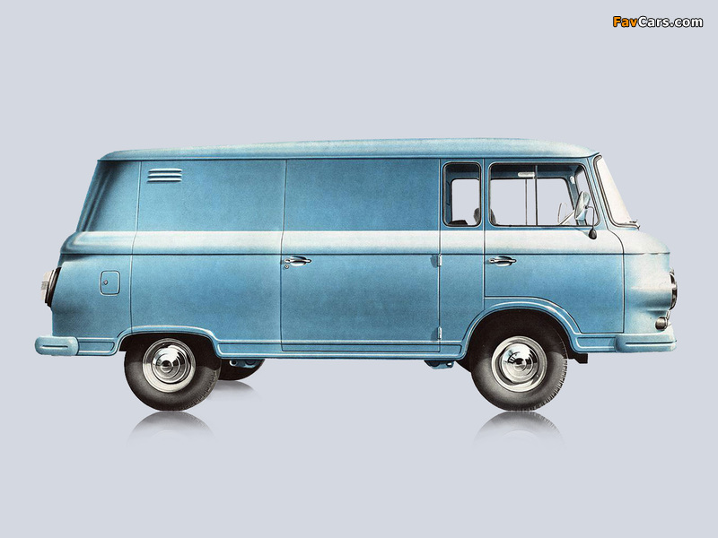Barkas B1000 Kastenwagen 1961–91 wallpapers (800 x 600)