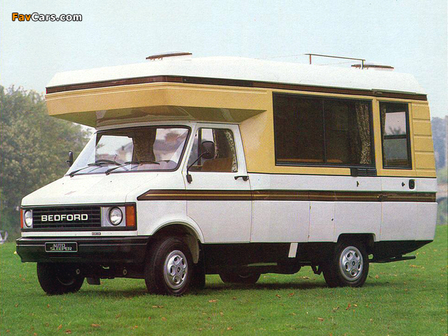 Bedford CF2/250 Auto-Sleeper Clubman 1980–86 images (640 x 480)