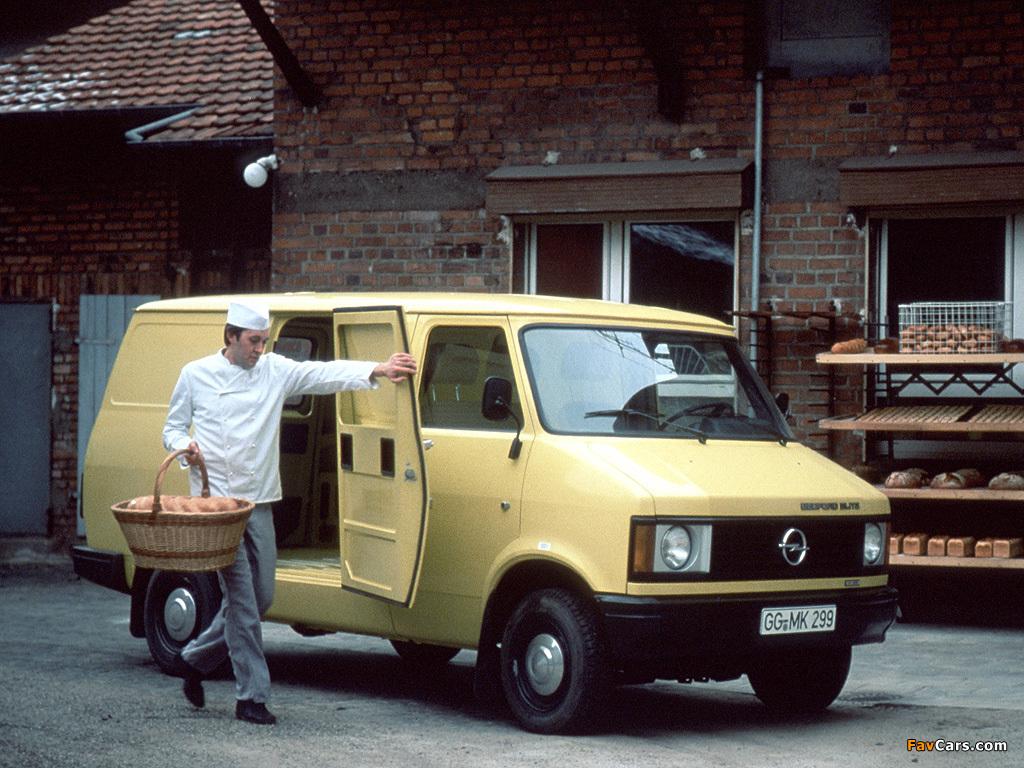 Opel Bedford Blitz Van 1969–87 pictures (1024 x 768)