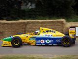 Benetton B191 1991 photos