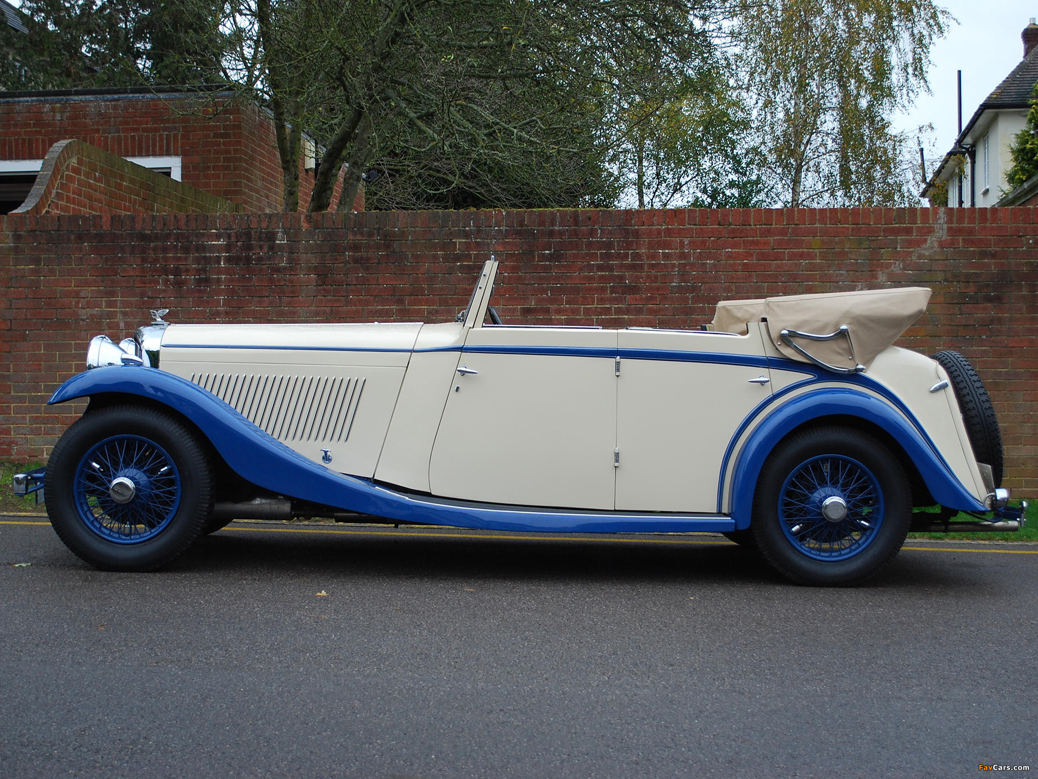 Bentley 3 ½ Litre All Weather Tourer by Mulliner 1934 images (2048 x 1536)