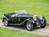 Bentley 3 ½ Litre Tourer by Lancefield/Corsica 1934 wallpapers