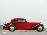 Bentley 3 ½ Litre Drophead Coupe by Park Ward 1934 wallpapers