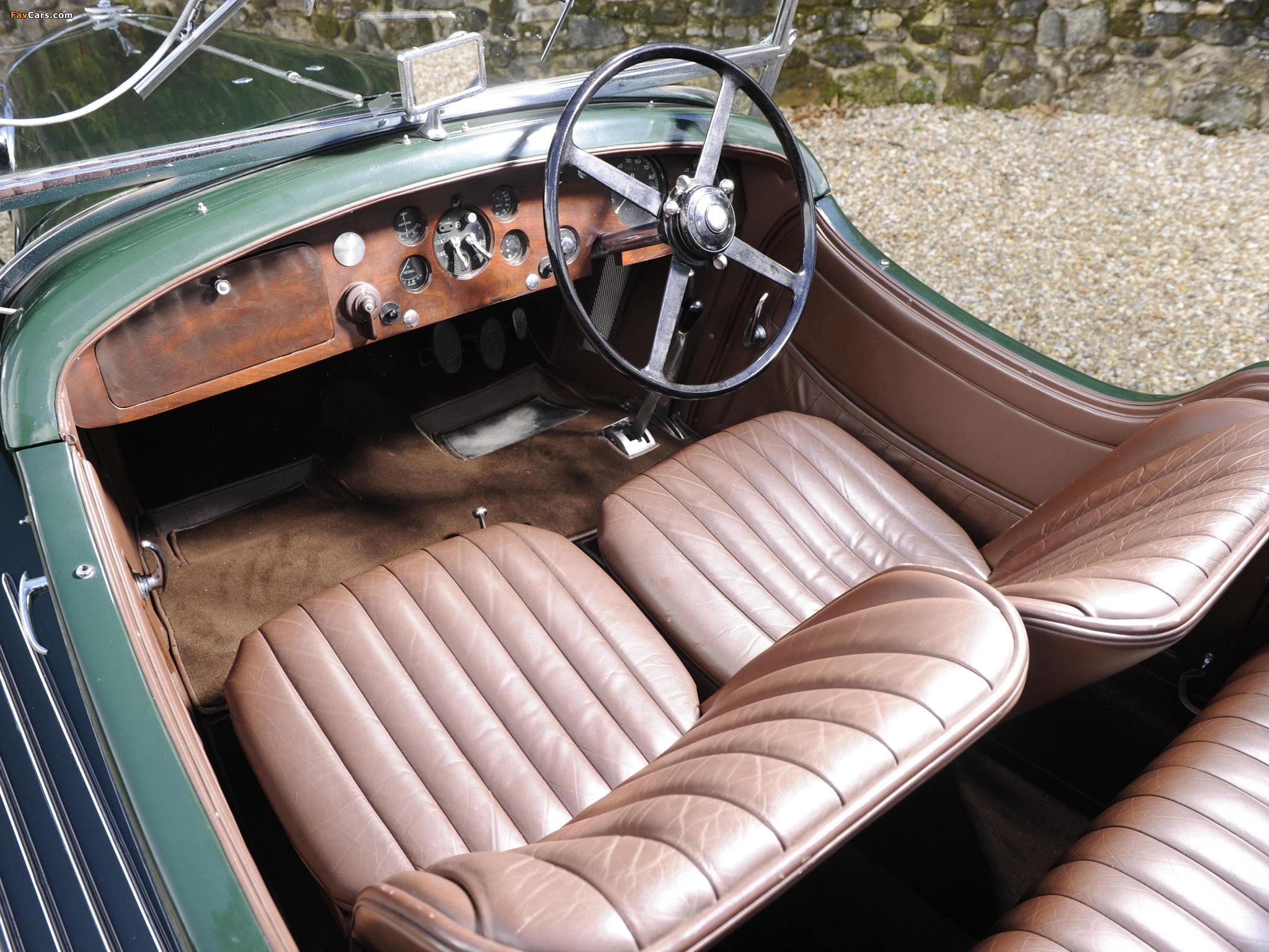 Images of Bentley 3 ½ Litre Open Tourer 1934 (2048 x 1536)