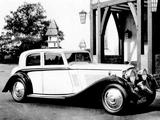 Photos of Bentley 3 ½ Litre Silent Travel Saloon by Vanden Plas 1934