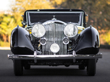 Photos of Bentley 3 ½ Litre Sedanca Coupe by Windovers 1936