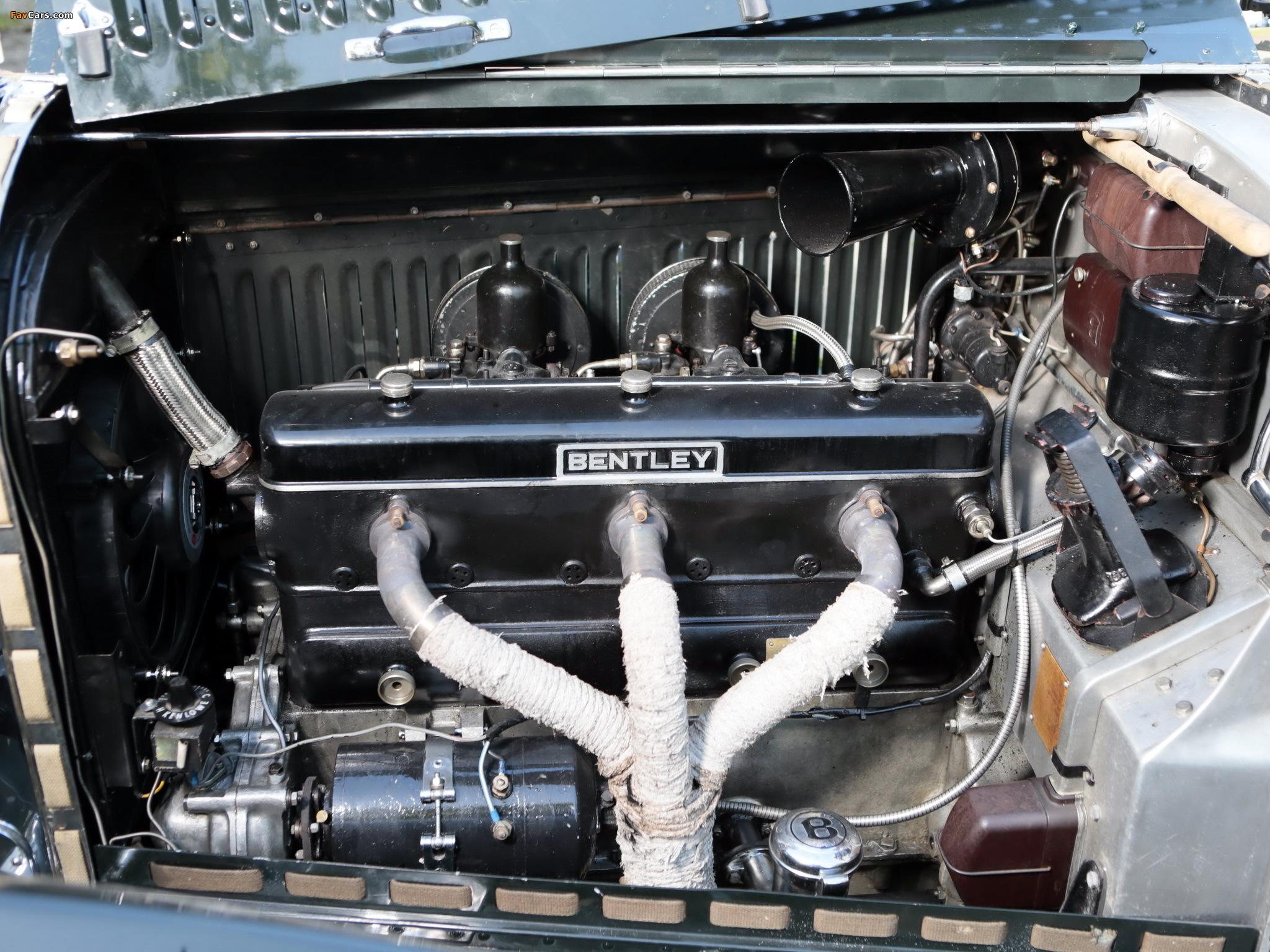 Photos of Bentley 3 ½ Litre Roadster by Petersen Engineering 1937 (2048 x 1536)